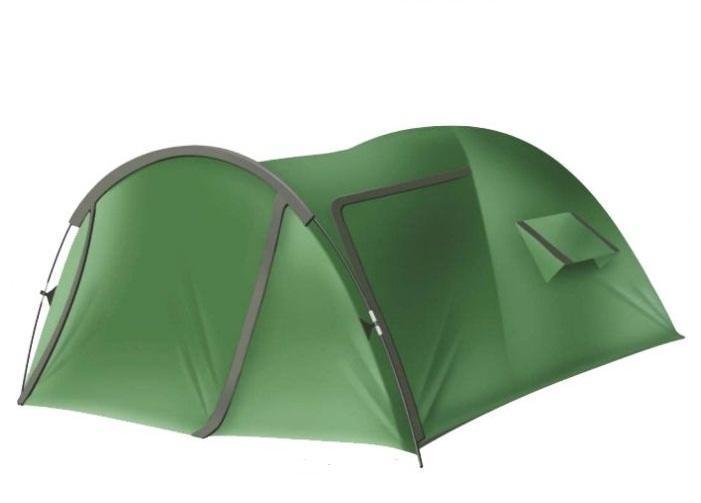 Палатка CANADIAN CAMPER CYCLONE 2 AL30200031Большая, просторная и комфортная палатка бренда Canadian Camper.Благодаря наличию третьей выносной дуги обладает большим тамбуром, его размеры позволяют разместить в нем все Ваше снаряжение.Тамбур палатки имеет два входа. Также для удобства эксплуатации палатки в жаркую погоду, палатка имеет большие вентиляционные окна, расположенные по бокам палатки.