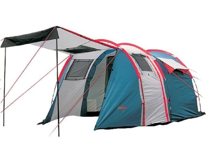 Палатка CANADIAN CAMPER TANGA 5 (цвет royal)30500003TANGA 5– комфортные палатки для туризма. Их классическаяформа «полубочка»- пользуется заслуженной популярностью у туристов, благодарянебольшому весу, легкой установке,просторному спальному отделению и большомутамбуру, двери и окна которого имеют полно размерные антимоскитные сетки. Дверь тамбура также можно использовать как дополнительный козырек над входом. Для обеспечения максимального комфорта – спальное отделение имеет два входа и двавентиляционных окна, которые оборудованы антимоскитными сетками.Для увеличения внутреннего пространства Вы можете снять или не устанавливать спальное отделение. Палатки выпускается в двух цветовых решениях – ROYAL и WOODLANDПалатка TANGARA 3 отличается от палаткиTANGA 3 формой заднейчасти спального отделения.