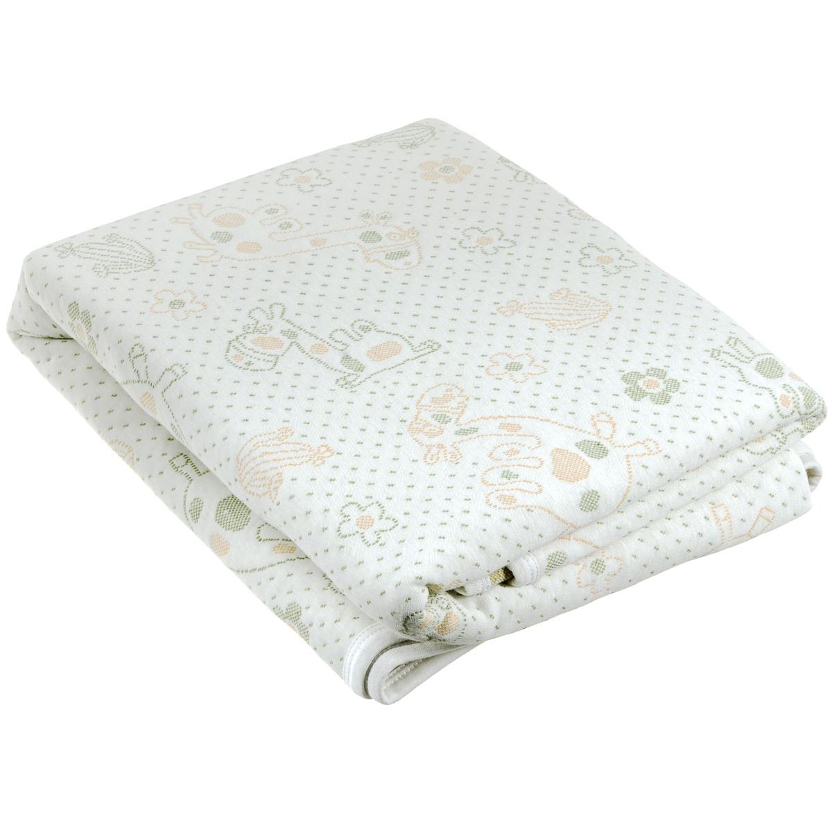 """Стеганый детский плед-одеяло Baby Nice """"Верблюды"""", изготовленный из мягкого натурального 100% хлопка, оформлен оригинальным рисунком. Плед-одеяло для новорожденных из мягкого и дышащего хлопка идеально подходит для комфортного сна малыша. Утеплитель нового поколения """"microfiber"""", помещенный между трикотажными полотнами с обеих сторон, делает изделие мягким, легким и одновременно теплым, создавая вашему малышу ощущение свежести и комфорта. Одеяло хорошо пропускает воздух и позволяет коже дышать, предотвращая повышенное потоотделение. Изделие сохраняет свои свойства даже после многочисленных стирок, быстро сохнет и не требует глажки. Во время прогулки такой плед послужит легким одеялом в коляску."""