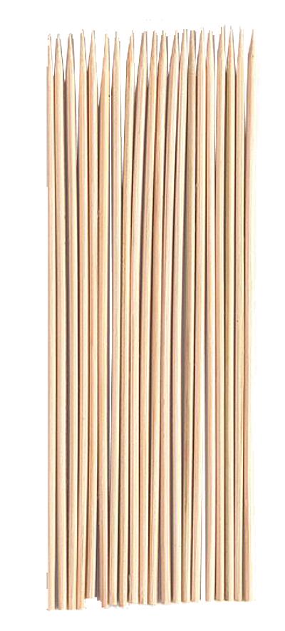 Шампуры бамбуковые Boyscout, 30 см, 50 шт68/5/4Шампуры Boyscout, выполненные из бамбука, предназначены для приготовления шашлыков из мяса, рыбы, птицы и овощей. Длинные, тонкие шампуры удобно держать в руках и насаживать на них продукты. Длина шампура: 30 см.Комплектация: 50 шт.