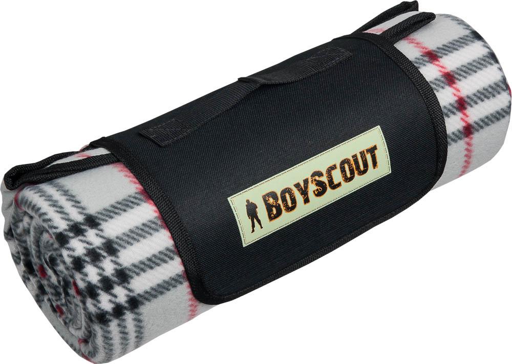 Плед для пикника Boyscout с влагостойкой подложкой, 150 х 130 см3B327Плед Boyscout идеален для создания уюта на пикнике или в машине. Изготовлен из флиса, спонжа и оснащен влагостойкой подложкой. Трехслойный плед приятен на ощупь, мягкий. Изделие декорировано принтом клетка. Материал: флис, спонж, непромокаемый материал PEVA. Размер: 150 см х 130 см.