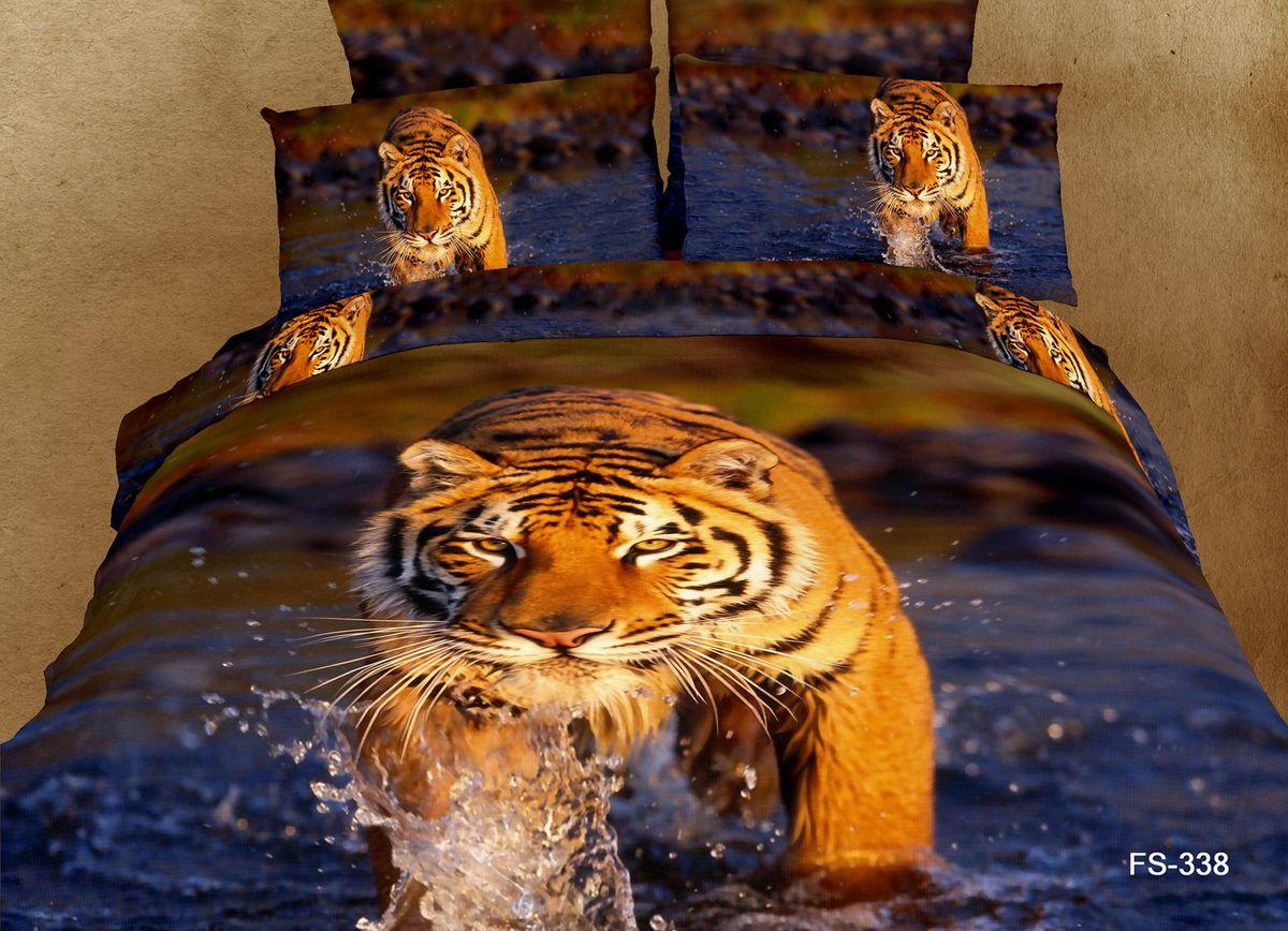 Комплект белья Buenas noches FX King Lev, 2-спальное. 53287 комплект белья buenas noches fx kihg lev евро 53286