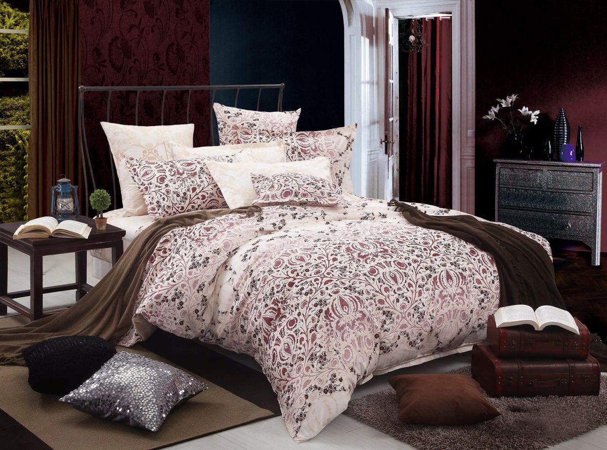 Комплект белья Amore Mio ZHG Ingrid, 1,5-спальное. 6278962789Amore Mio – Комфорт и Уют - Каждый день! Amore Mio предлагает оценить соотношению цены и качества коллекции.Разнообразие ярких и современных дизайнов прослужат не один год и всегда будут радовать Вас и Ваших близких сочностью красок и красивым рисунком. Что такое Satin/Сатин.-это ткань сатинового (атласного) переплетения нитей. Имеет гладкую, шелковистую лицевую поверхность, на которой преобладают уточные нити (уток – горизонтально расположенные в тканом полотне нити). Сатин изготавливается из крученой хлопковой нити двойного плетения. Он чрезвычайно приятен на ощупь, не электризуется и не скользит по кровати. Сатин прекрасно сохраняет форму и не мнется, отлично пропускает воздух, что позволяет телу дышать и дарит здоровый и комфортный сон. Пододеяльник-150*215, Простыня-150*225, наволочки-70*70(2шт)