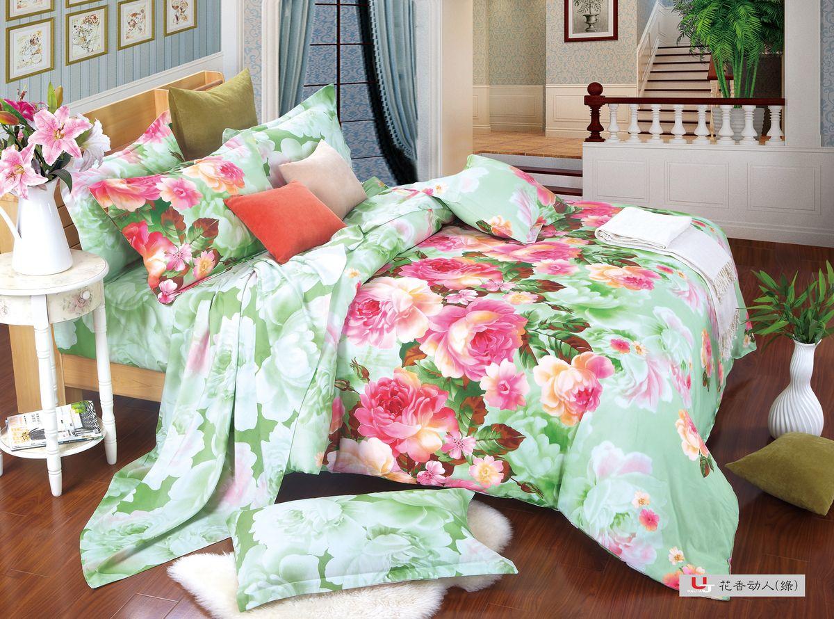 Комплект белья Amore Mio ZHG Vals, 1,5-спальное. 680504630003364517Amore Mio – Комфорт и Уют - Каждый день! Amore Mio предлагает оценить соотношению цены и качества коллекции.Разнообразие ярких и современных дизайнов прослужат не один год и всегда будут радовать Вас и Ваших близких сочностью красок и красивым рисунком. Что такое Satin/Сатин.-это ткань сатинового (атласного) переплетения нитей. Имеет гладкую, шелковистую лицевую поверхность, на которой преобладают уточные нити (уток – горизонтально расположенные в тканом полотне нити). Сатин изготавливается из крученой хлопковой нити двойного плетения. Он чрезвычайно приятен на ощупь, не электризуется и не скользит по кровати. Сатин прекрасно сохраняет форму и не мнется, отлично пропускает воздух, что позволяет телу дышать и дарит здоровый и комфортный сон. Пододеяльник-150*215, Простыня-150*225, наволочки-70*70(2шт)