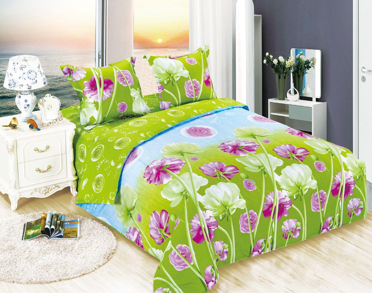 Комплект белья Amore Mio ET Zabava, 1,5-спальное. 70062391602Amore Mio – Комфорт и Уют - Каждый день! Amore Mio предлагает оценить соотношению цены и качества коллекции.Разнообразие ярких и современных дизайнов прослужат не один год и всегда будут радовать Вас и Ваших близких сочностью красок и красивым рисунком. Белье Amore Mio – лучший подарок любимым! Поплин – европейский аналог бязи. Это ткань самого простого полотняного плетения с чуть заметным рубчиком, который появляется из-за использования нитей разной толщины. Состоит из 100% натурального хлопка, поэтому хорошо удерживает тепло, впитывает влагу и позволяет телу дышать. На ощупь поплин мягче бязи. Благодаря использованию современных методов окраски, не линяет и его можно стирать при температуре до 40°C. Пододеяльник-150*215, Простыня-150*220, наволочки-70*70(1шт)
