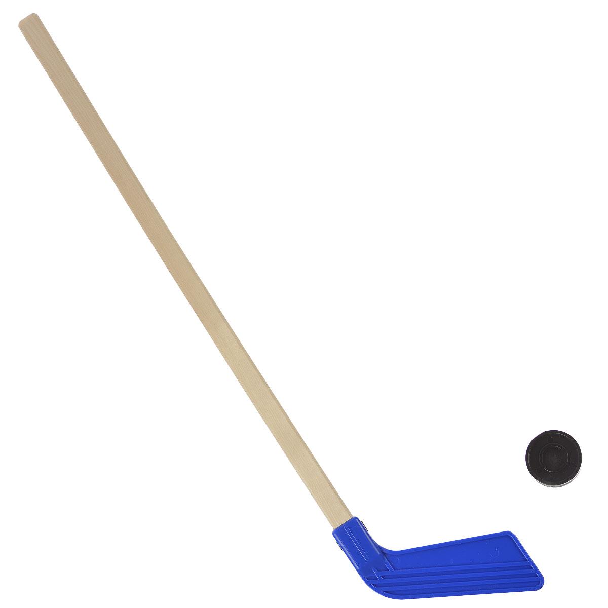 """Набор для игры в хоккей Астрон """"КХЛ"""" будет полезным подарком для маленьких любителей подвижных игр и активного отдыха. Набор включает в себя деревянную клюшку с пластиковой насадкой и пластиковую шайбу. Хоккейный набор поможет в приобщении ребенка к спорту, а также доставит много радости и принесет большое количество новых впечатлений. Приобретая набор для игры в хоккей, вы обеспечите малышу весело проведенное время и крепкое здоровье, ведь активные игры на природе очень полезны."""