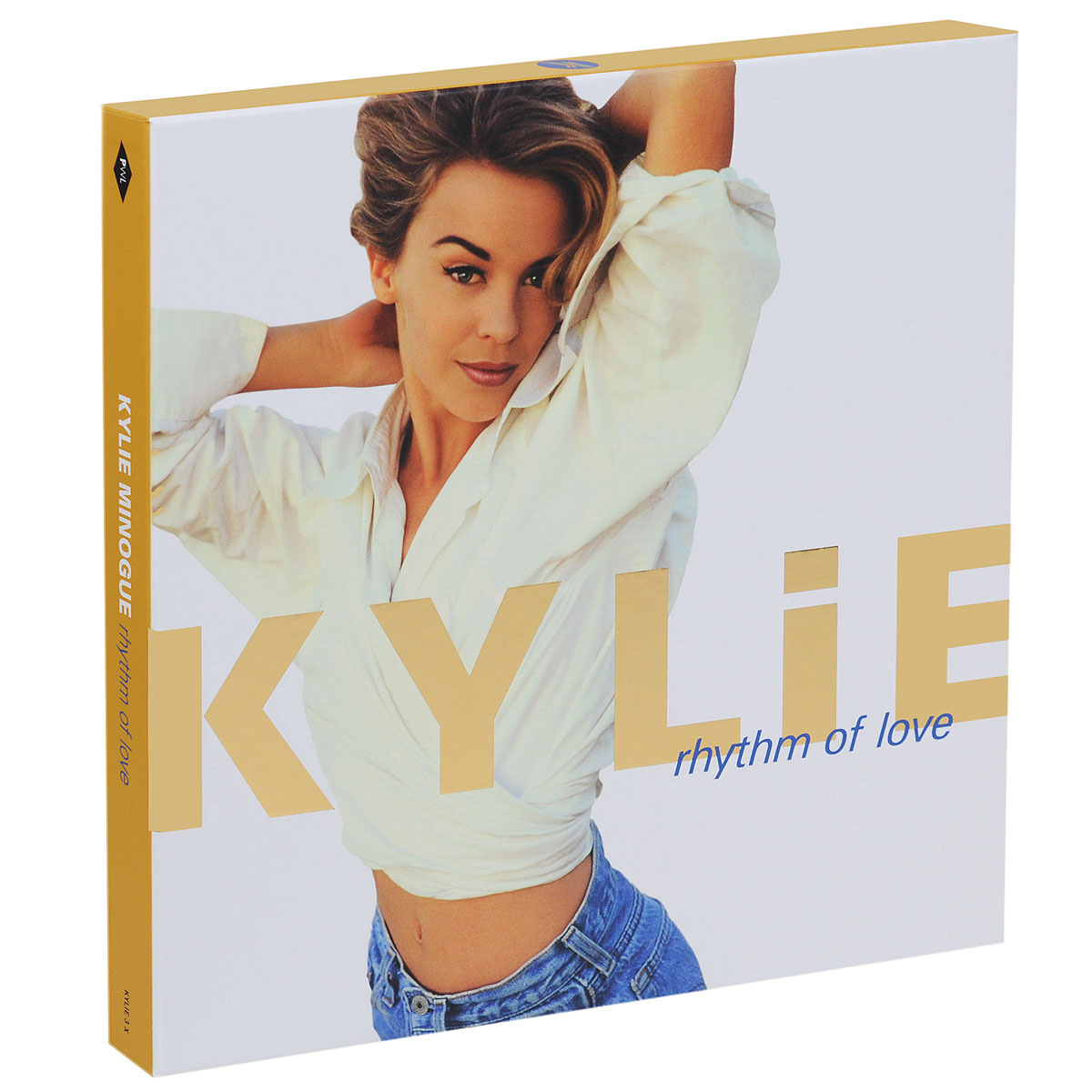 Кайли Миноуг Kylie Minogue. Rhythm Of Love (2 CD + DVD + LP) the best of kylie minogue special edition cd dvd