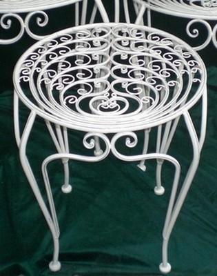 Столик ПАВЛИН металлический M, 50.5 x 50.5 x 58 смCM000001328Столик ПАВЛИН металлический M, 50.5 x 50.5 x 58 см