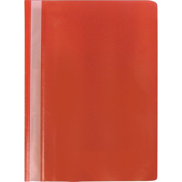 Proff Папка-скоросшиватель Alpha цвет красный80900ЗПапка-скоросшиватель Proff Alpha, изготовленная из высококачественного полипропилена - это удобный и практичный офисный инструмент, предназначенный для хранения и транспортировки рабочих бумаг и документов формата А4. Папка оснащена верхним прозрачным матовым листом и металлическим зажимом внутри для надежного удержания бумаг.Папка-скоросшиватель - это незаменимый атрибут для студента, школьника, офисного работника. Такая папка надежно сохранит ваши документы и сбережет их от повреждений, пыли и влаги.