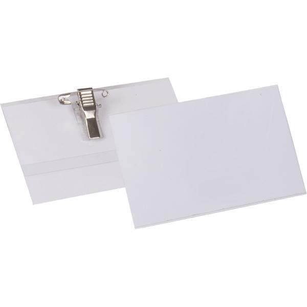 """Бейдж """"Proff"""" изготовлен из прозрачного пластика, предназначен для личной карточки с именем и фотографией. Оснащен булавкой и клипом, удобно крепится к одежде."""