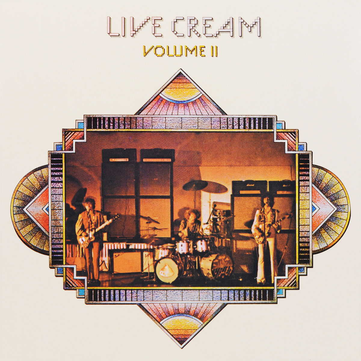Cream Cream. Live Cream. Volume 2 (LP) cream cream deluxe 27550626