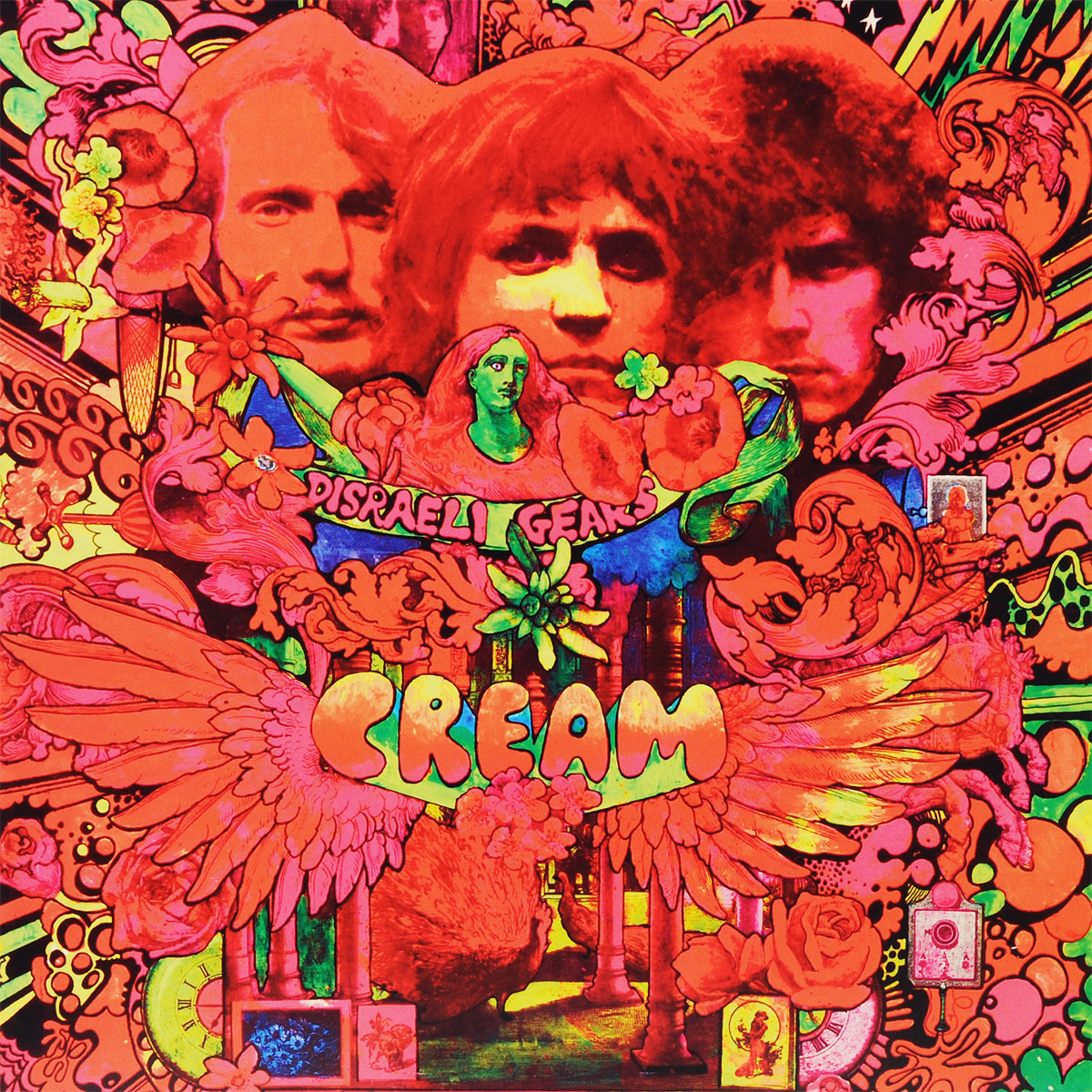 Cream Cream. Disraeli Gears (LP) гель лаки planet nails гель краска без липкого слоя planet nails paint gel зеленая 5г