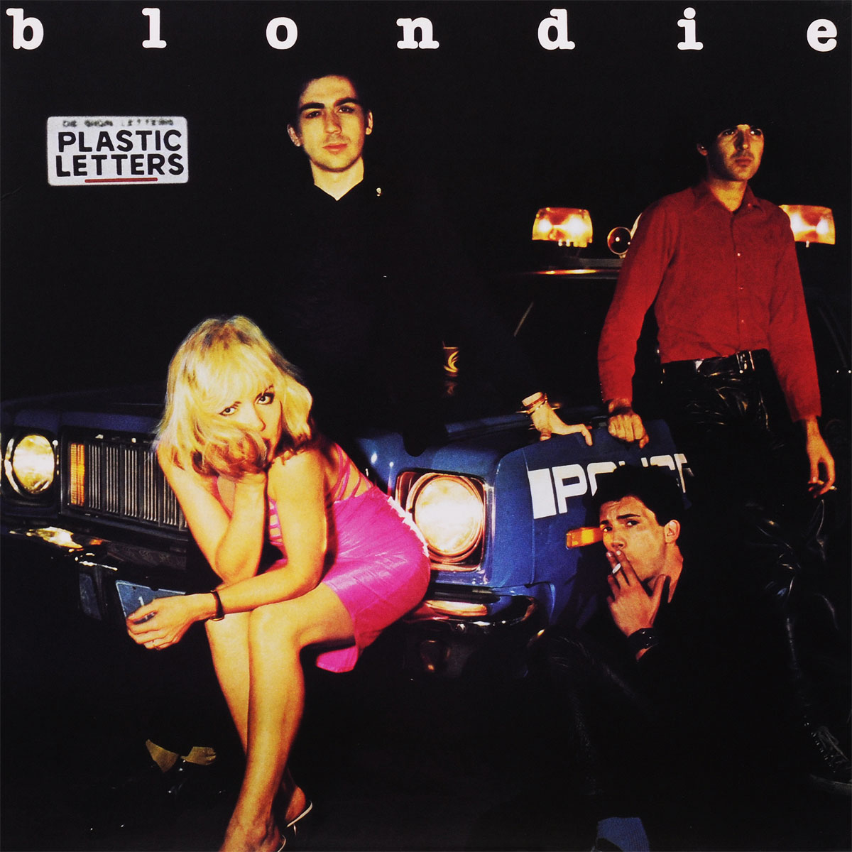 Blondie Blondie. Plastic Letters (LP) garbage y blondie mexico