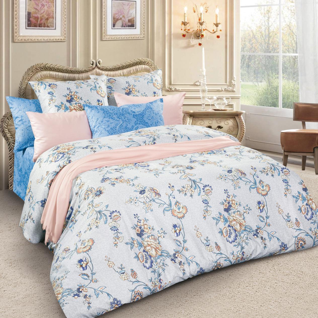 Комплект белья Letto, 1,5-спальный, наволочки 70х70, цвет: серый, голубой. sm62-34630003364517Спокойная классика в сатиновом исполнении - залог комфорта и гармонии цвета в вашей спальни. Дополните свою спальню актуальным принтом от европейских дизайнеров! Это отличный подарок любителям модных трендов в цвете и дизайне.Комплект выполнен из сатина, который заслужено считается благородной тканью для постельного белья. Сатину свойственна практичность, долговечность, мягкость и изысканный блеск, такая ткань прекрасно впитывает влагу во время сна, комфортна на ощупь и не требует особого ухода. Серия Letto Сатин – это современные дизайны в европейской стилистике, которые прекрасно дополнят Вашу спальню. Обращаем внимание, что наволочки могут отличаться от представленных на фотографии. Также может отличаться и оттенок комплекта из-за разницы в цветопередаче мониторов.