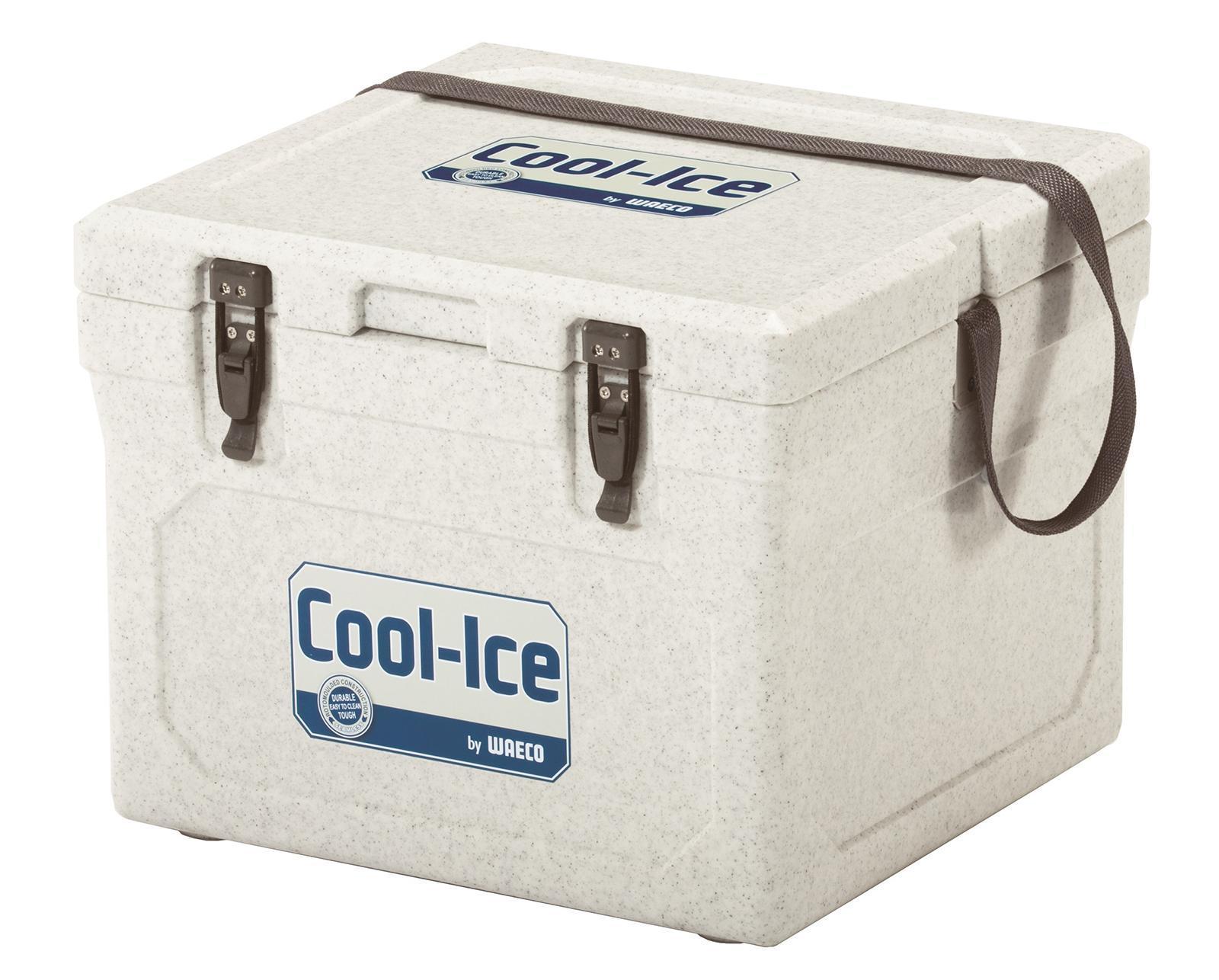 Dometic Cool-Ice WCI-22 изотермический контейнер, 22 л19201Термобокс Dometic Cool Ice WCI 22 имеет особое лабиринтное уплотнение, которое не дает попадать теплому воздуху во внутрь. Эта система LABYRINTH SEAL - которая дает возможность сохранять необходимую температуру дольше. Термобокс сделан из термостойких, гигиеничных материалов. Cool Ice WCI-22 имеет защиту от ультрафиолетового излучения, очень легко моется и оснащен надежными защелками, петли сделаны из нержавеющей стали. Для удобства в транспортировке, предусмотрен ремень. Также предусмотрено отверстие для слива конденсата в корпусе. Вес термобокса, всего 4,2 кг.
