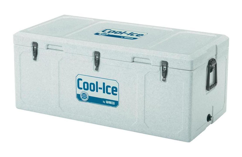 WAECO Cool-Ice WCI-110 изотермический контейнер, 111 лPackit0003Термобокс WAECO Cool Ice WCI 110 имеет особое лабиринтное уплотнение, которое не дает попадать теплому воздуху во внутрь. Эта система LABYRINTH SEAL - которая дает возможность сохранять необходимую температуру дольше. Термобокс сделан из термостойких, гигиеничных материалов. Cool Ice WCI 110 имеет защиту от ультрафиолетового излучения, очень легко моется и оснащен надежными защелками, петли сделаны из нержавеющей стали. Для удобства транспортировки, предусмотрены удобные ручки. Также предусмотрено отверстие для слива конденсата в корпусе. Вес термобокса - 15,7 кг.