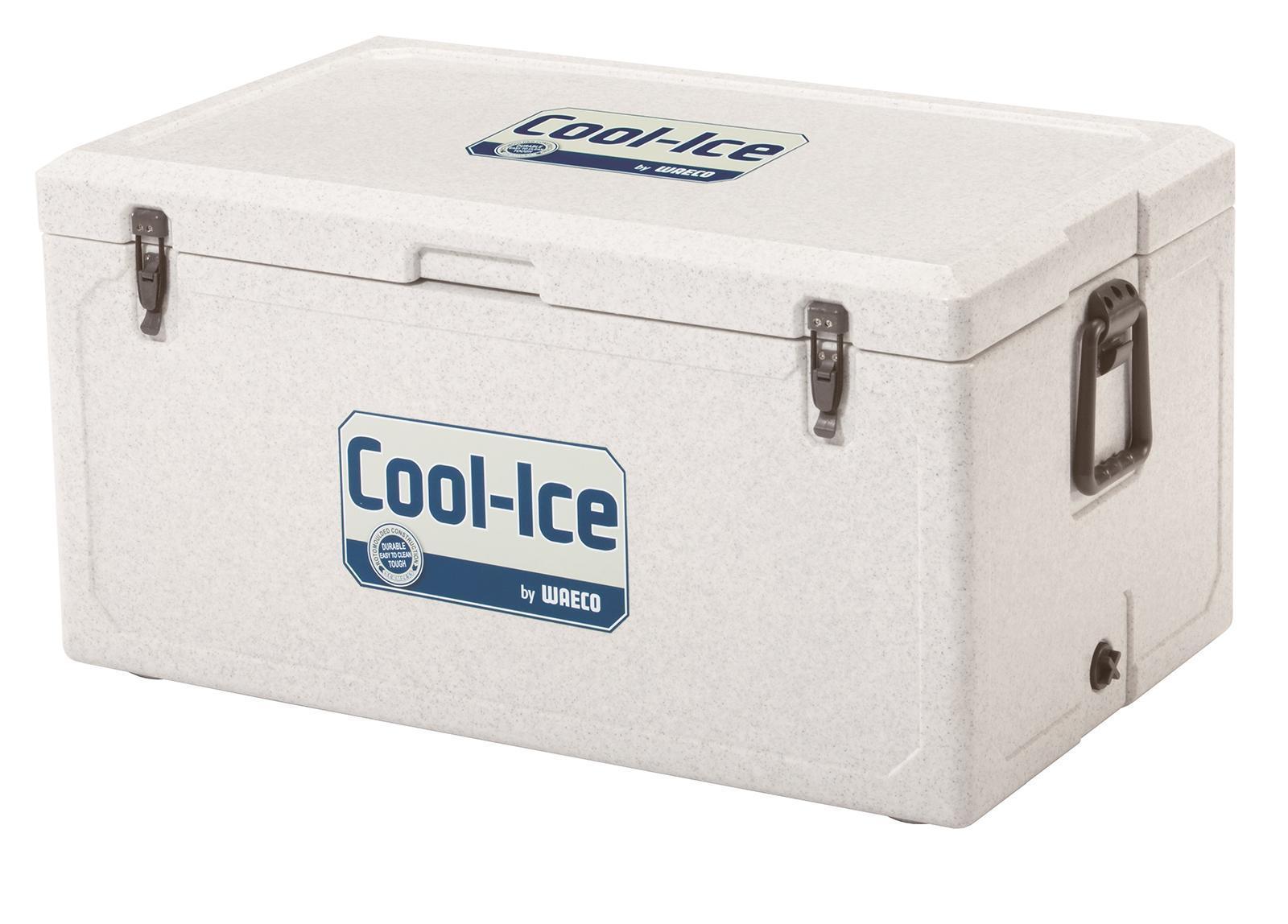 WAECO Cool-Ice WCI-85 изотермический контейнер, 86 лWCI-85Высокая температураокружающей среды, неровные поверхности, грязь и сильные вибрации? С этим легко справятся новый непобедимый термоконтейнер для льда WAECO Cool-Ice WCI-85. Оснащенный чрезвычайно эффективной и прочной изоляцией, он может продержать ваши продукты в холодном виде до 10 днейВсе детали бесшовного термоконтейнера WAECO Cool-Ice WCI-85 сделаны из ударопрочного пластика , который можно использовать в самых экстремальных условиях