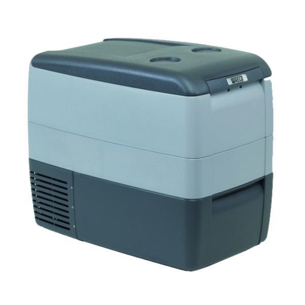 WAECO CoolFreeze 46-CDF автохолодильник, 39 лCDF-46Новая модель компрессорного автохолодильника Waeco CoolFreezeCDF-46 разработана на базе предыдущей модели Waeco CoolFreezeCDF-45. Дополнительными новыми функциями и доработками вавтохолодильнике Waeco CoolFreeze CDF-46 стали цифровой дисплей, внутренняподстветка и съемная проволочная корзинка для продуктовБлагодаря компактным габаритам и съемной крышке, даный мини-холодильник удобный и практичный в эксплуатации, не требует дополнительного сервиса