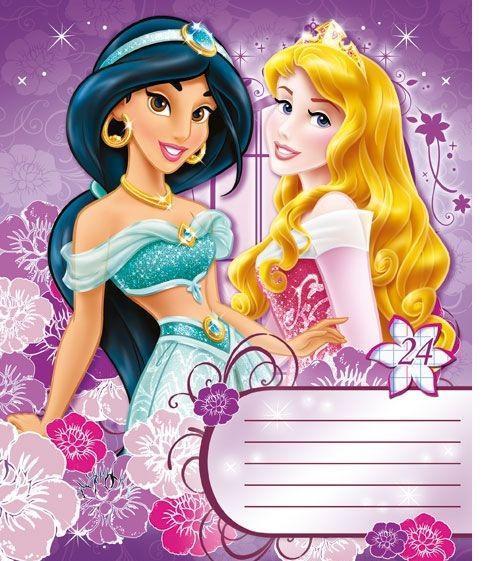 Princess Набор тетрадей в линейку, 24 листа, формат А5, 10 шт124995