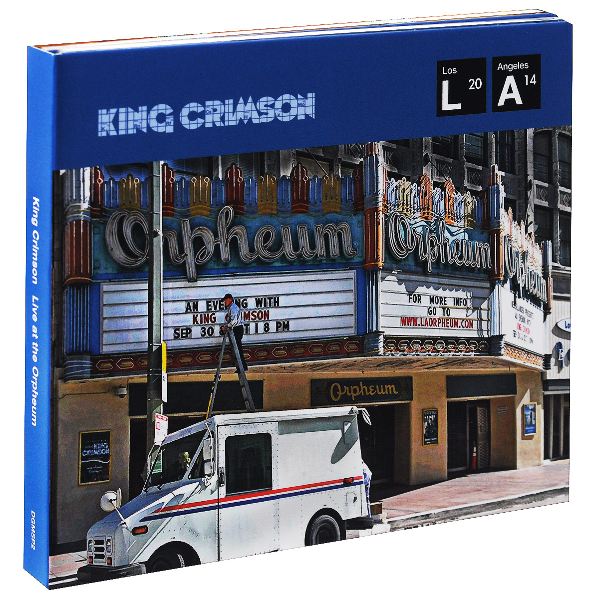 King Crimson King Crimson. Live At The Orpheum (CD + DVD) григорий лепс парус live