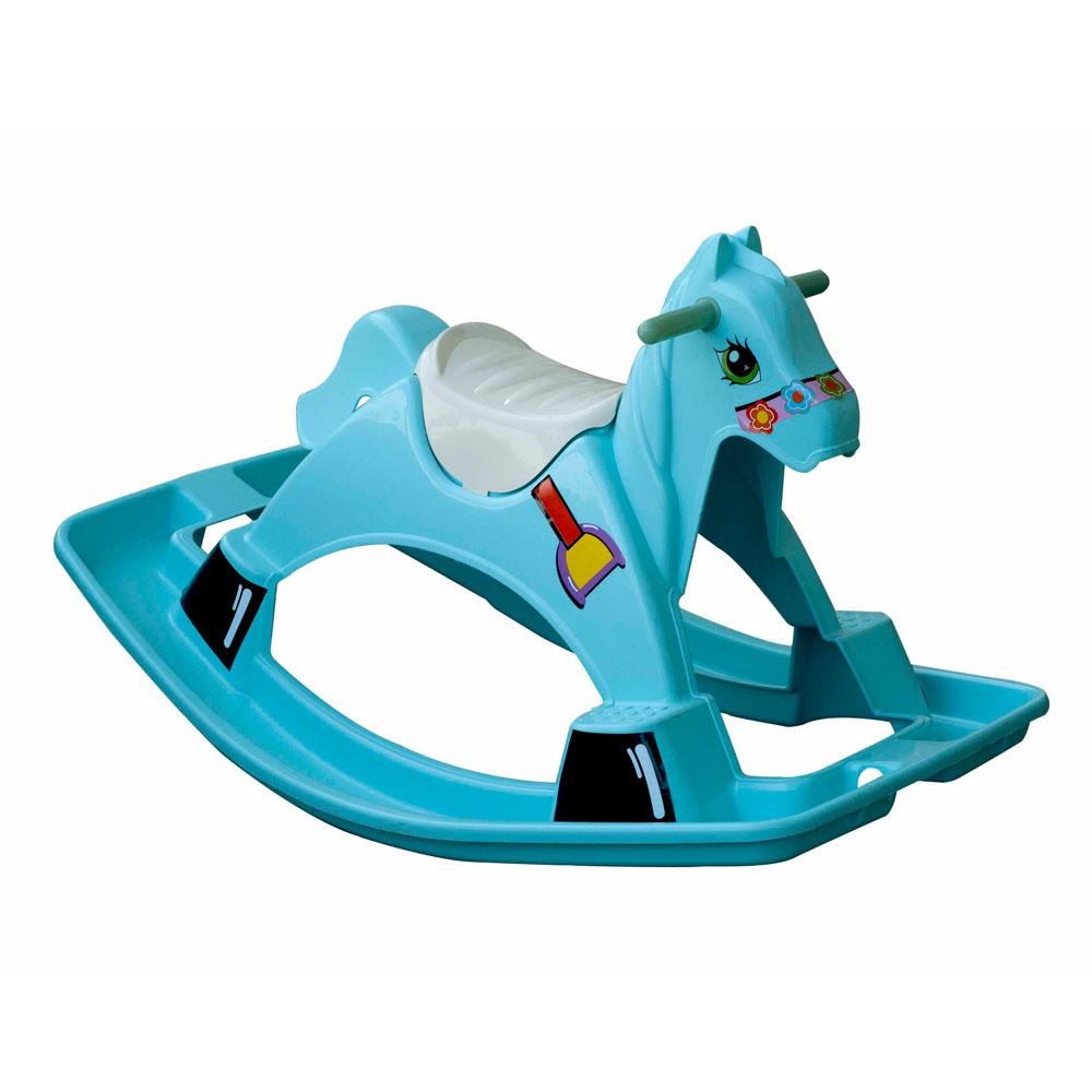 """Оригинальная качалка """"Лошадка"""" - приятный и оригинальный подарок для Вашего малыша. Качалка выполнена в ярком дизайне. Сделана из качественного и безопасного материала. Качалка подходит для детей от 1 года до 3 лет."""