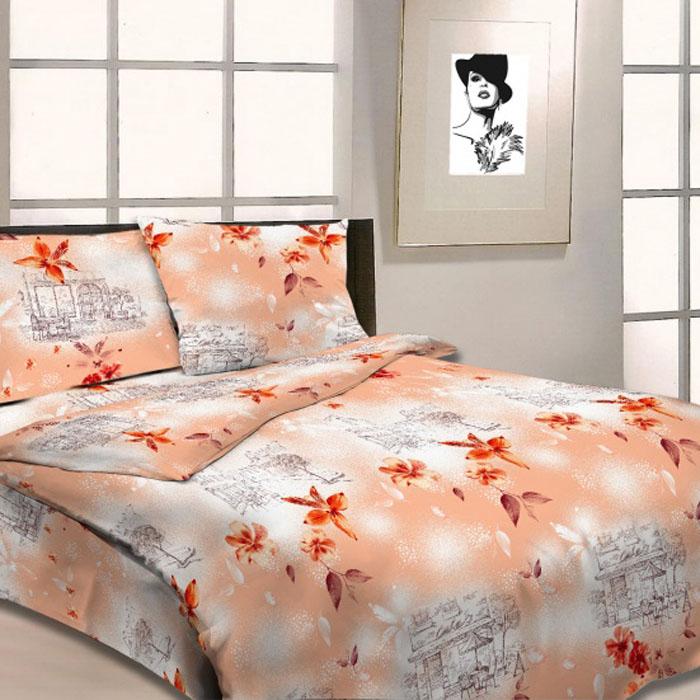 Комплект белья Letto, 2-спальный, наволочки 70х70, цвет: оранжевый. B14-4391602Серия «Традиция» от Letto – это возможность купить оптом недорогое постельное белье, выполненной из классической российской бязи, знакомой многим домохозяйка. Не смотря на то, что на смену бязи пришли более комфортные ткани для постельного белья, такие как сатин и перкаль, бязь продолжает оставаться одним из самых востребованных продуктов на текстильном рынке России, благодаря своим потребительским свойствам и доступной цене. Для производства серии «Традиция» используется российская бязь, плотностью 125гр/м, с применением устойчивых импортных красителей и печати с новомодным эффектом 3D. Коллекция отшивается в традиционных размерах 1.5-cп, 2,0–сп. и евро размере с нав-ками 70*70.