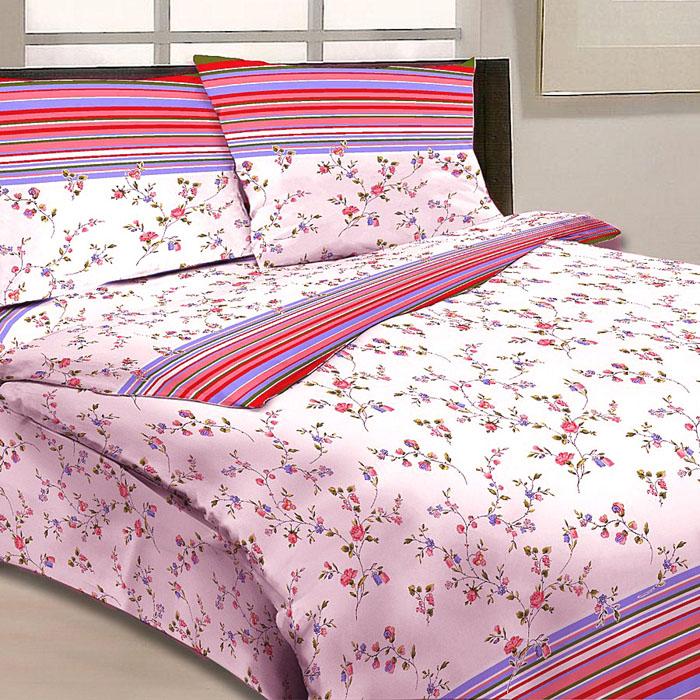 Комплект белья Letto, 1,5-спальный, наволочки 70х70, цвет: бело-розовый. B13-3K100Серия «Традиция» от Letto – это возможность купить оптом недорогое постельное белье, выполненной из классической российской бязи, знакомой многим домохозяйка. Не смотря на то, что на смену бязи пришли более комфортные ткани для постельного белья, такие как сатин и перкаль, бязь продолжает оставаться одним из самых востребованных продуктов на текстильном рынке России, благодаря своим потребительским свойствам и доступной цене. Для производства серии «Традиция» используется российская бязь, плотностью 125гр/м, с применением устойчивых импортных красителей и печати с новомодным эффектом 3D. Коллекция отшивается в традиционных размерах 1.5-cп, 2,0–сп. и евро размере с нав-ками 70*70.