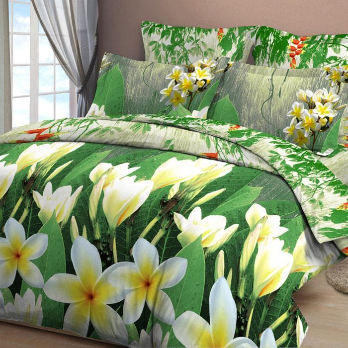 Комплект белья Letto, 1,5-спальный, наволочки 70х70, цвет: зеленый. B12-3551114/01Серия «Традиция» от Letto – это возможность купить оптом недорогое постельное белье, выполненной из классической российской бязи, знакомой многим домохозяйка. Не смотря на то, что на смену бязи пришли более комфортные ткани для постельного белья, такие как сатин и перкаль, бязь продолжает оставаться одним из самых востребованных продуктов на текстильном рынке России, благодаря своим потребительским свойствам и доступной цене. Для производства серии «Традиция» используется российская бязь, плотностью 125гр/м, с применением устойчивых импортных красителей и печати с новомодным эффектом 3D. Коллекция отшивается в традиционных размерах 1.5-cп, 2,0–сп. и евро размере с нав-ками 70*70.