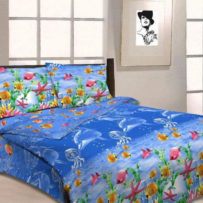 Комплект белья Letto, 2-спальный, наволочки 70х70, цвет: синий. B11-4391602Серия «Традиция» от Letto – это возможность купить оптом недорогое постельное белье, выполненной из классической российской бязи, знакомой многим домохозяйка. Не смотря на то, что на смену бязи пришли более комфортные ткани для постельного белья, такие как сатин и перкаль, бязь продолжает оставаться одним из самых востребованных продуктов на текстильном рынке России, благодаря своим потребительским свойствам и доступной цене. Для производства серии «Традиция» используется российская бязь, плотностью 125гр/м, с применением устойчивых импортных красителей и печати с новомодным эффектом 3D. Коллекция отшивается в традиционных размерах 1.5-cп, 2,0–сп. и евро размере с нав-ками 70*70.