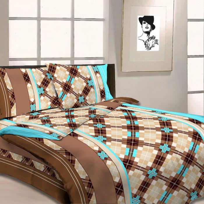 Комплект белья Letto, 1,5-спальный, наволочки 70х70, цвет: коричневый. B03-3187107Серия «Традиция» от Letto – это возможность купить оптом недорогое постельное белье, выполненной из классической российской бязи, знакомой многим домохозяйка. Не смотря на то, что на смену бязи пришли более комфортные ткани для постельного белья, такие как сатин и перкаль, бязь продолжает оставаться одним из самых востребованных продуктов на текстильном рынке России, благодаря своим потребительским свойствам и доступной цене. Для производства серии «Традиция» используется российская бязь, плотностью 125гр/м, с применением устойчивых импортных красителей и печати с новомодным эффектом 3D. Коллекция отшивается в традиционных размерах 1.5-cп, 2,0–сп. и евро размере с нав-ками 70*70.