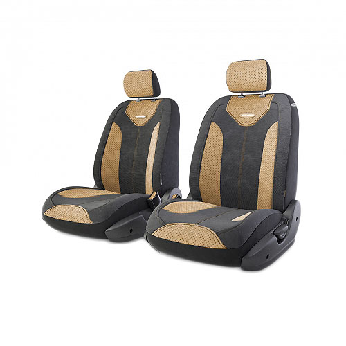 Авточехлы Autoprofi Трансформер Comfort, цвет: черный, бежевый, 6 предметов98298130Чехлы Autoprofi Трансформер Comfort - новая модель автомобильных чехлов. Главной особенностью их стала модульная конструкция, благодаря которой можно укомплектовать 5-, 7- или 8-местный автомобиль. Запатентованная конструкция чехлов с молниями и торцевыми клапанами позволит их адаптировать в автомобилях с любым кузовом - седана, минивена, кроссовера, внедорожника или универсала. Приэтом специальные клапаны закрывают торцы спинок и подлокотников, позволяя их складывать иобеспечивая плотное прилегание даже на нестандартных креслах.Немаловажно, что данная серия чехлов на автомобильное сиденье оснащена распускаемым боковым швом, что позволяет их использовать в автомобилях с боковой подушкой безопасности. Спинка и боковые части автомобильного чехла сделаны из велюра. Из прежних наработок, полюбившихся автомобилистам, в данных чехлах сохранилось крепление крючками и липучками, которые прочно фиксируют чехлы на сиденье. Чехлы для переднего ряда серии Трансформер сочетаются со всеми чехлами заднего ряда этой серии.Комплектация: 2 подголовника, 2 спинки переднего ряда, 2 сиденья переднего ряда.Особенности: - Толщина поролона: 5 мм.- Карманы в спинках передних сидений.- Предустановленные крючки на широких резинках.- Крепление передних спинок липучками.- Использование с боковыми airbag.- Поясничный упор.- Боковая поддержка спины.