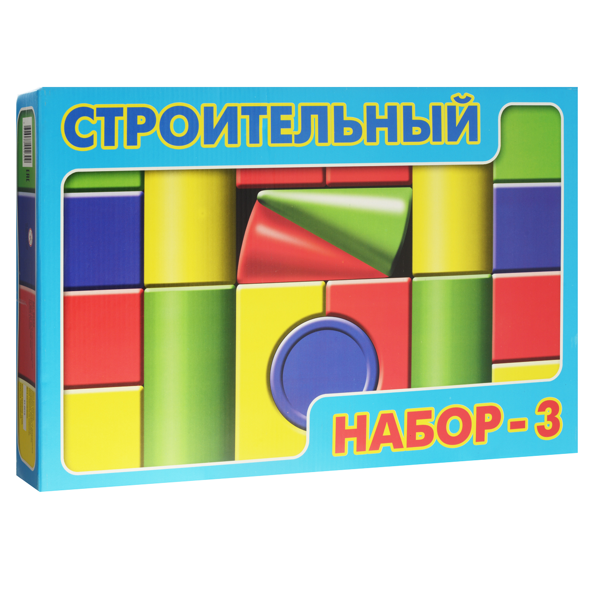 """Строительный набор """"Десятое королевство"""", №3, 19 элементов"""