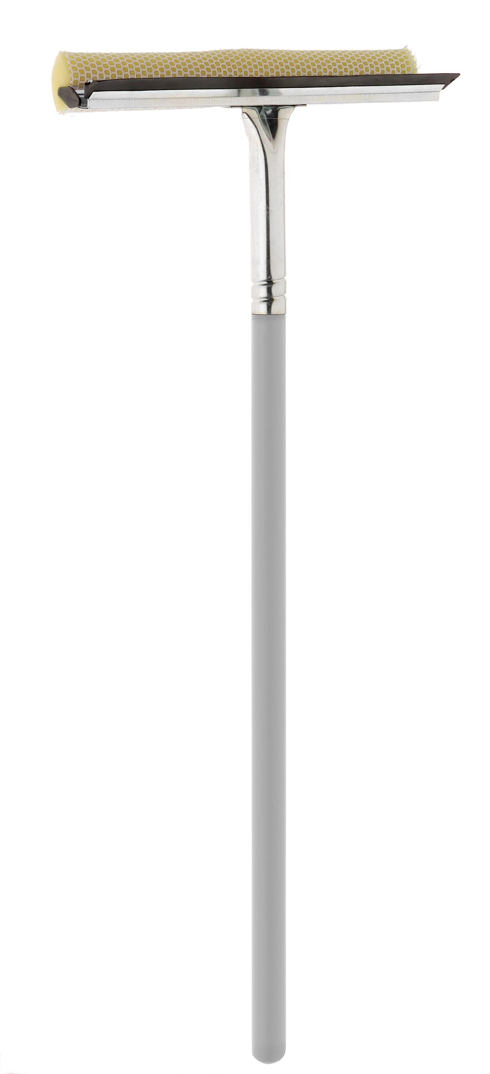 Стеклоочиститель Apex Mosquito, длина рукоятки 60 см531-402Стеклоочиститель Apex Mosquito с мягкой губкой и кромкой из резины станет незаменимым помощником при уборке. Удобная рукоятка выполнена из дерева. Рукоятку при необходимости можно открутить. Оригинальный, современный и удобный стеклоочиститель сделает уборку эффективнее и приятнее. Размер рабочей поверхности: 25 см х 6 см х 4 см.Длина рукоятки: 60 см.