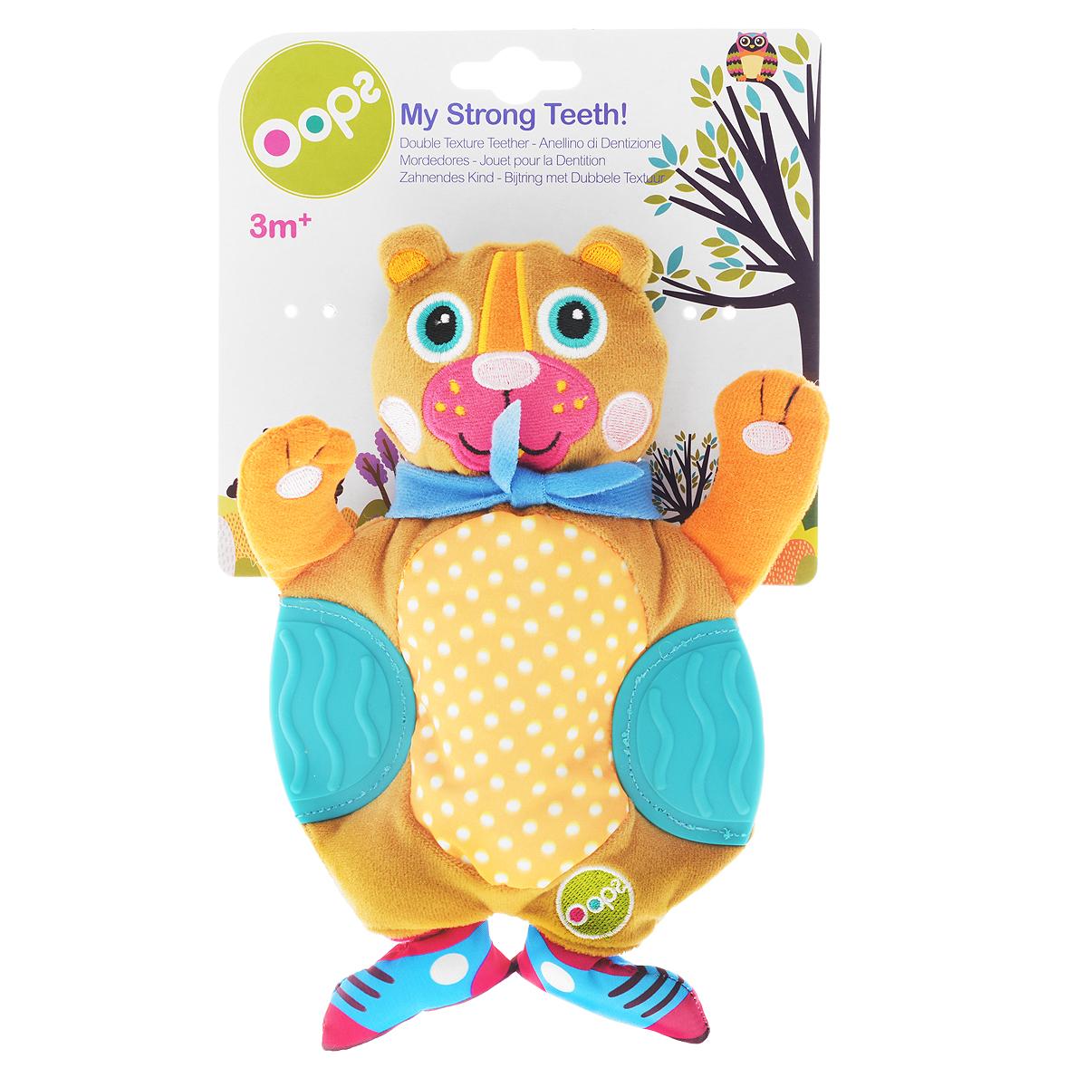 Развивающая игрушка OOPS Медвежонок погремушки oops игрушка развивающая собачка