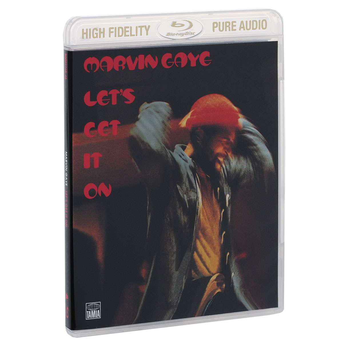 Марвин Гэй Marvin Gaye. Let's Get It On (Blu-ray Audio) rush rush signals blu ray audio
