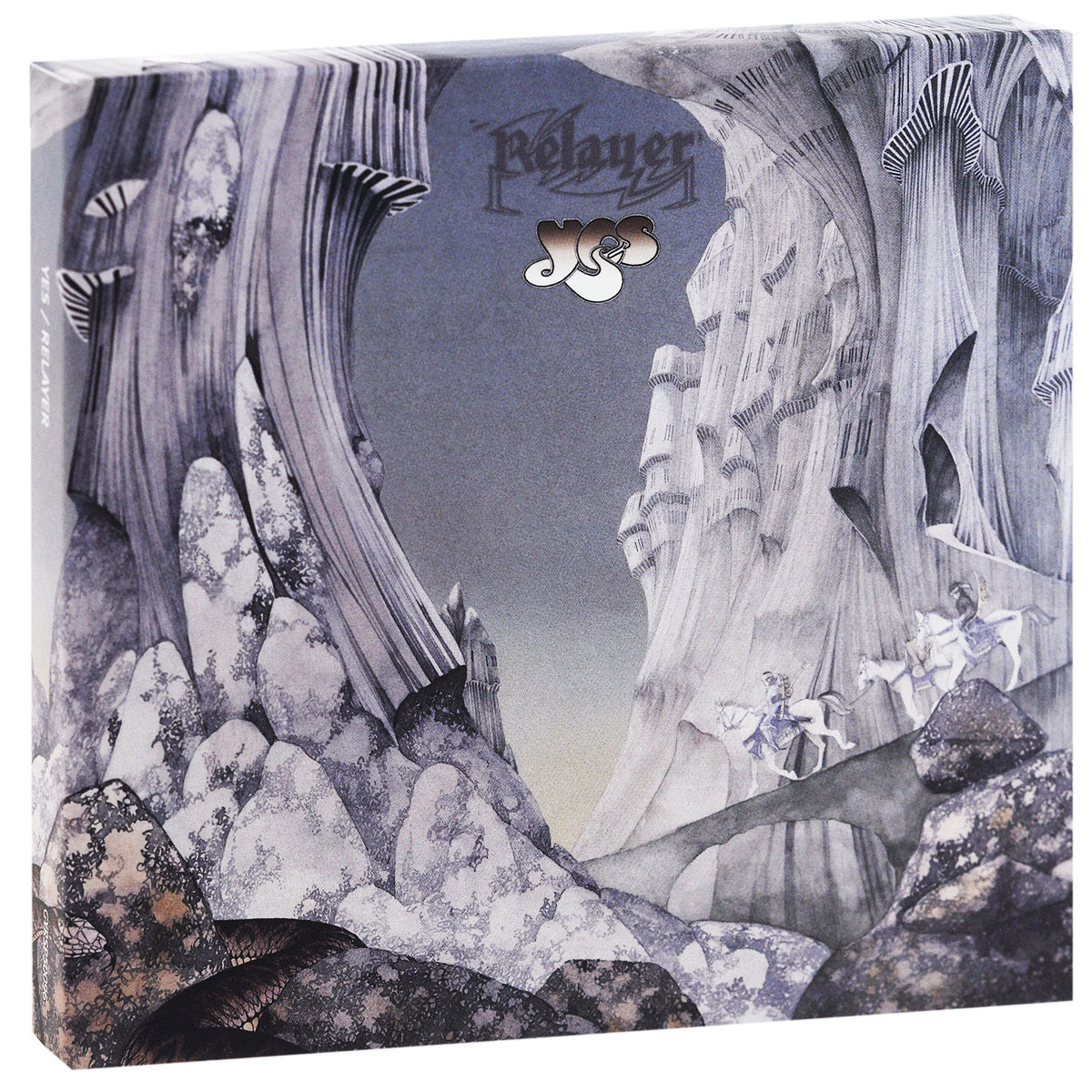 Yes Yes. Relayer (CD + DVD) yes yes in the present live from lyon 2 cd dvd
