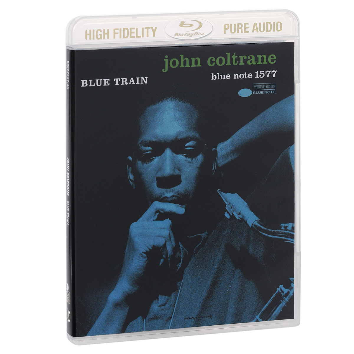 Джон Колтрейн John Coltrane. Blue Train (Blu-ray Audio) rush rush signals blu ray audio