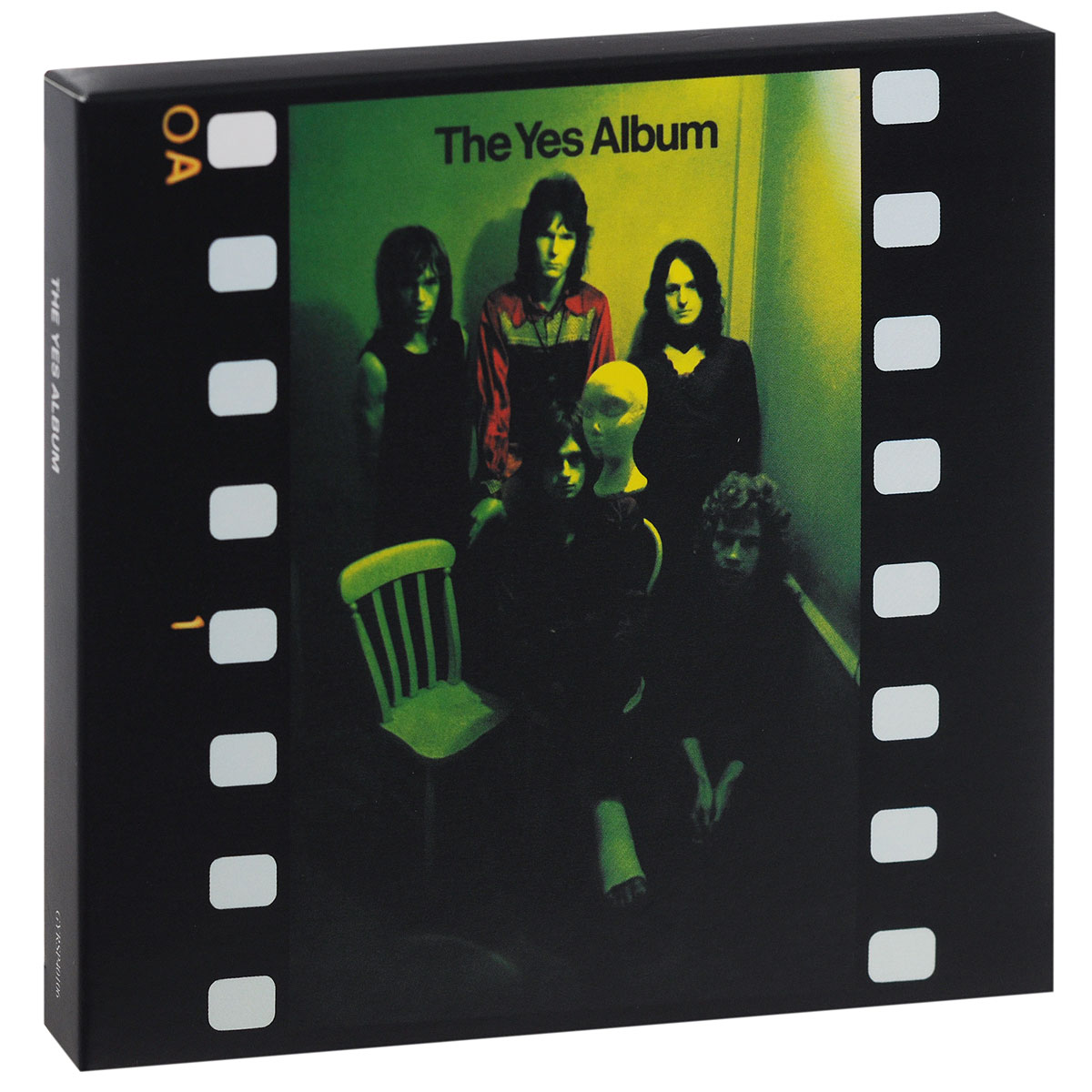 Yes Yes. The Yes Album (CD + DVD) yes yes in the present live from lyon 2 cd dvd