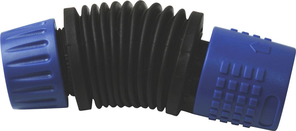 Коннектор для шланга Green Apple, гибкий, диаметр 12 ммA6300AP-2ABГибкий коннектор Green Apple, изготовленный из высококачественного ABS-пластика и термопластичной резины, предназначен для надежного соединения без перекручивания, шланга с адаптером. Дает дополнительное удобство при работе с различными насадками.