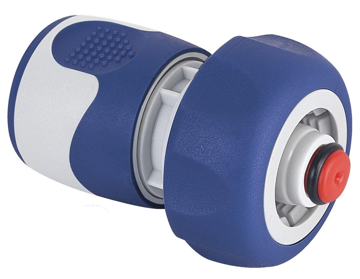 Коннектор с аквастопом Green Apple, 3/4106-026Коннектор Green Apple предназначен для надежного подключения насадок. Благодаря аквастопу замену насадок можно производить без предварительного отключения напора воды.Особенности:Покрытие ручки TPR soft.Для шланга 19 мм (3/4).Характеристики:Длина: 7.5 см.