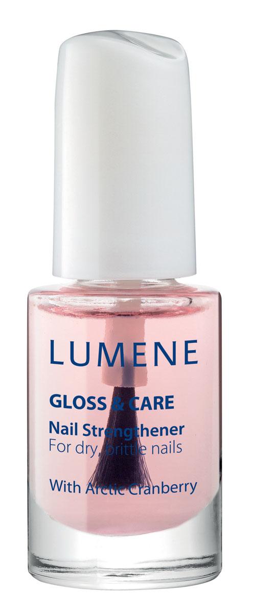 LUMENE Средство для укрепления ногтей Lumene Gloss & Care, 5 мл004368LUMENE GLOSS & CARE NAIL STRENGTHENER СРЕДСТВО ДЛЯ УКРЕПЛЕНИЯ НОГТЕЙ LUMENE GLOSS&CAREС маслом семян арктической клюквыПрименение: нанести в 1-2 слоя на очищенную поверхность ногтя или в 1 слой в качестве основы под лак. Укрепляет ногти, препятствует ломкости.