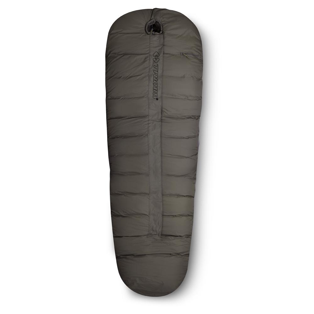 Спальный мешок Trimm Soldier, правосторонняя молния, цвет: хакиR36956Спальный мешок Trimm Soldier - классический вариант спального мешка типа кокон. Прекрасно подойдет для холодного времени года и будет незаменимой вещью в любом походе.Trimm Soldier выдерживает экстремально низкие температуры. Согласно стандарту EN 13537, спальник обеспечит максимальную комфортность для туриста при температуре внешней среды до -9°С, небольшой дискомфорт будет ощущаться при -17°С за бортом, но, даже при 37-градусном морозе позволит отдохнуть в течение 6 часов.В разложенном виде спальник имеет следующие габариты: длина - 235 см, ширина в ногах - 35 см, а в изголовье - 90 см. Такие размеры спального мешка позволят удобно разместиться в нем человеку ростом до 195 см.Спальник имеет два слоя, между которыми находится теплоизоляционный материал. Внешний слой сделан из износостойкого нейлона, внутренний слой - из мягкого и легкого нейлона, наполнителем служит Therrmolite extra со специальной, термоизоляционной прослойкой общей плотностью 430 г/м2.Достоинства и основные характеристики: Внутренний материал - износостойкий, водонепроницаемый и сверхлегкий нейлон;Наполнитель Thermolite Extra обеспечивает на треть больше тепла, чем другие утеплители такого же веса;Температурная шкала сертифицирована согласно европейскому стандарту EN 13537.Гарантия: Компания Trimm предоставляет гарантию на изделие в течение 1 года с момента приобретения.