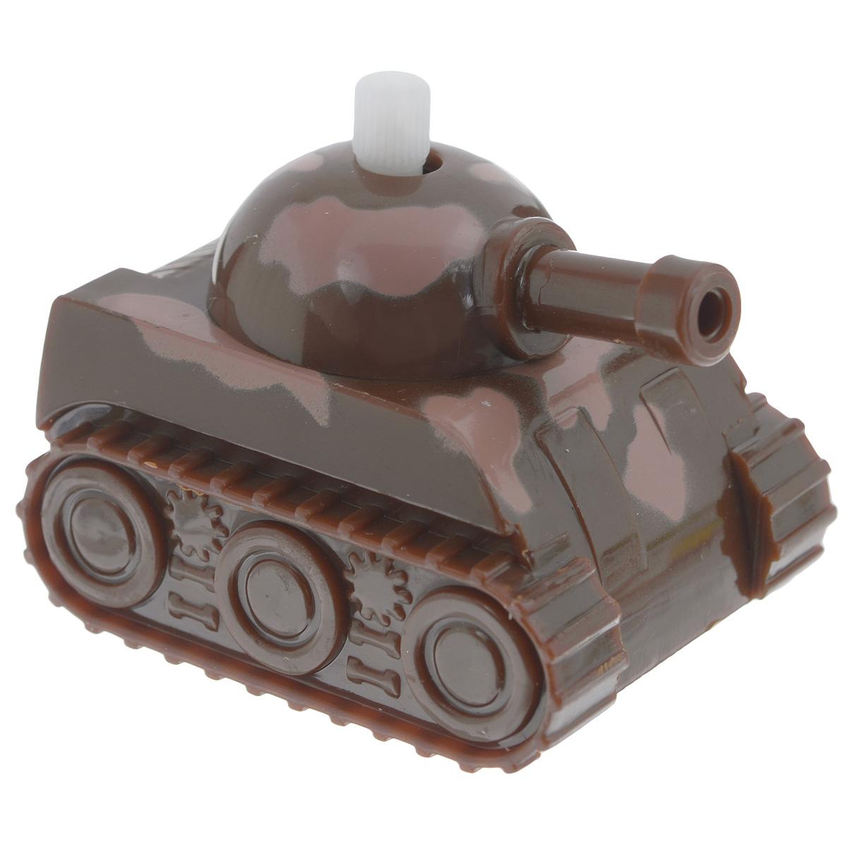 Игрушка заводная Танчик, цвет: коричневый часовой ключ