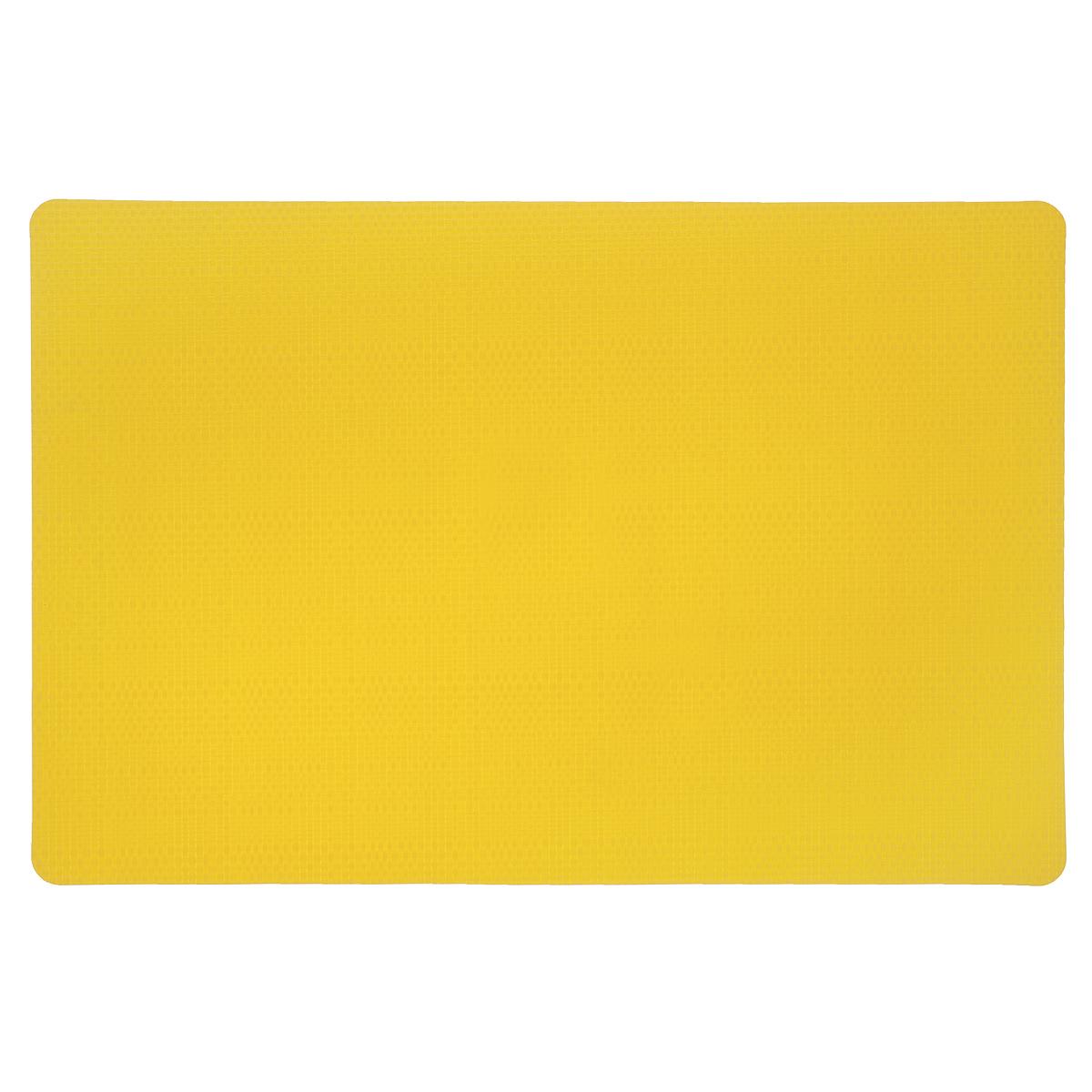 Подставка под горячее Amadeus, цвет: желтый, 43 см х 28,5 см. 28HZ-9063115510Прямоугольная подставка под горячее Amadeus выполнена из мягкого пластика с декоративной плетеной текстурой. Подставка не боится высоких температур и легко чистится от пятен и жира.Каждая хозяйка знает, что подставка под горячее - это незаменимый и очень полезный аксессуар на каждой кухне. Ваш стол будет не только украшен оригинальной подставкой, но и сбережен от воздействия высоких температур ваших кулинарных шедевров.Размер подставки: 43 см х 28,5 см.