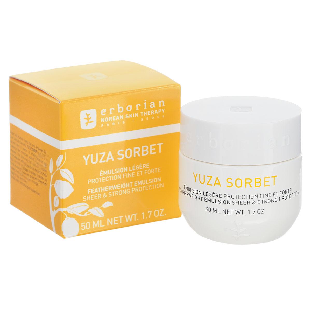 Erborian Дневной крем для лица Yuza Sorbet, увлажняющий, 50 мл783001_780246Восхитительный легкий и нежный дневной крем для лица Erborian Yuza Sorbet обеспечивает интенсивное увлажнение и создает эффект второй кожи, защищая кожу от негативного воздействия окружающей среды. Ключевые преимущества:- Устраняет самые первые признаки старения кожи,- Возрождает и увлажняет кожу, наполняя ее жизненной энергией,- Делает кожу сияющей, а ее цвет ярким,- Богат витамином С, борется с усталостью кожи, - Лакрица - сверхмощный антиоксидант,- Зеленая слива активирует микроциркуляцию, выводит токсины и стимулирует обновление клеток.Товар сертифицирован.