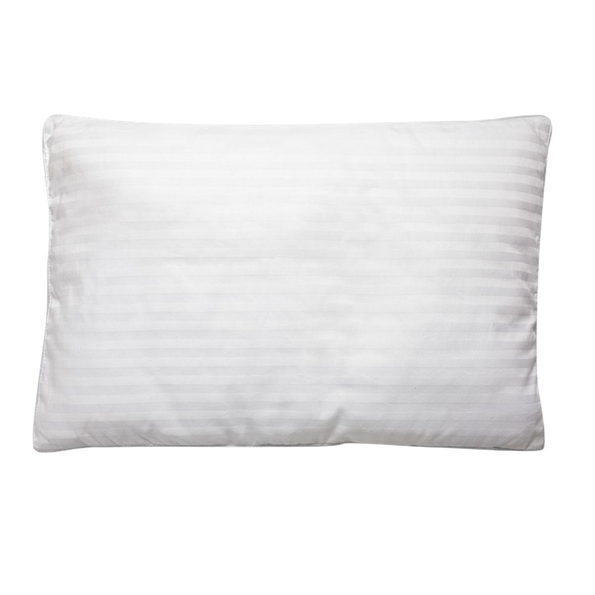 Подушка детская Fani, 40 х 60 см. 113415706-10S03301004Детская подушка Fani изготовлена из белого итальянского сатина с жаккардовым рисунком с наполнителем из волокна бамбука (пласт под чехлом) и полиэфира. По краям подушка украшена атласной окантовкой. Бамбук является природным антисептиком, обладающим уникальными антибактериальными и дезодорирующими свойствами. Также бамбуковое волокно является абсолютно гипоаллергенным наполнителем, что делает его идеальным для постели ребенка. Характеристики:Материал чехла: сатин, жаккард (100% хлопок). Наполнитель: 70% волокно бамбука, 30% полиэфир. Размер: 40 см х 60 см. Высота подушки: 4 см.