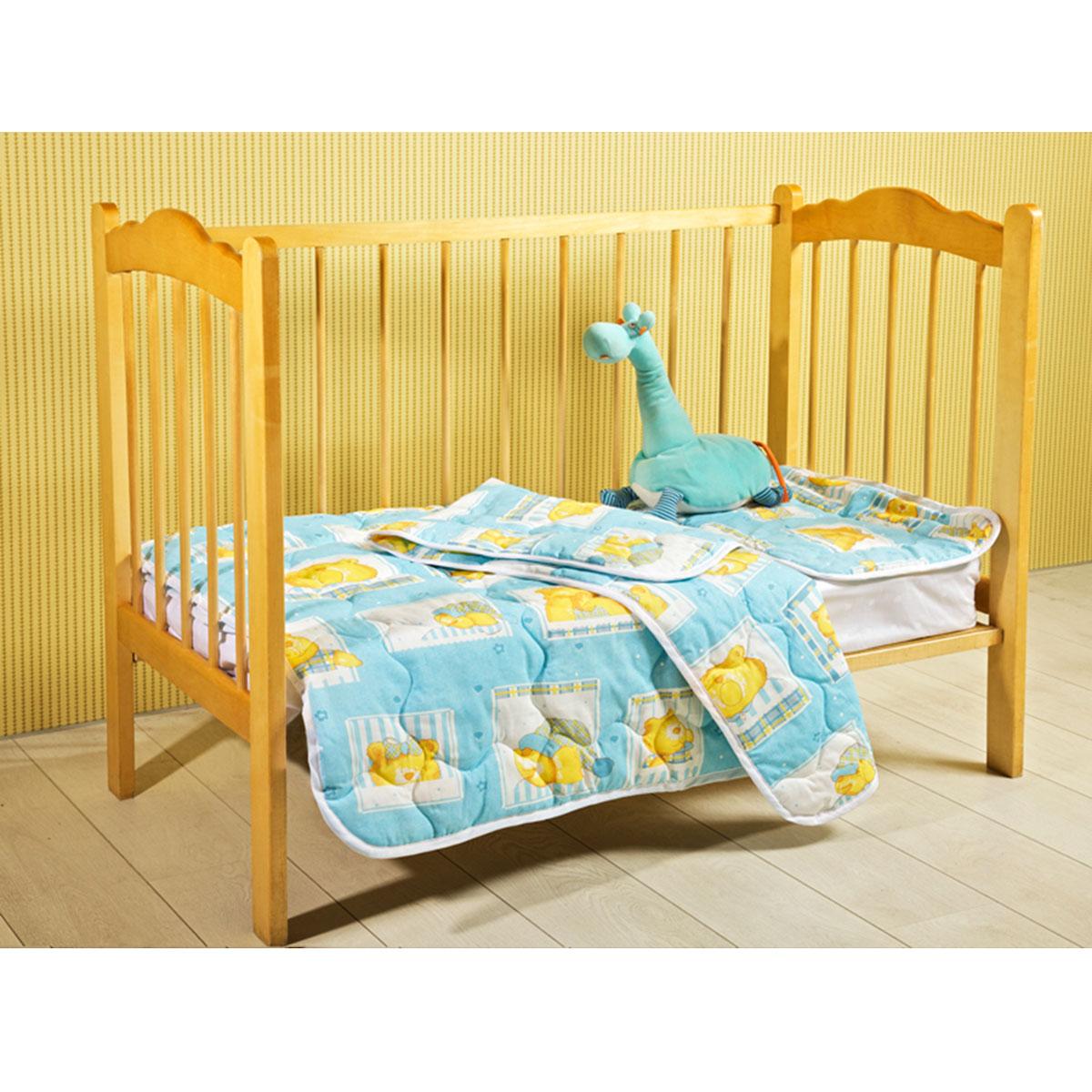 """Детское стеганое одеяло Primavelle """"Fani"""" изготовлено из натурального хлопка. Такое одеяло будет бережно хранить безмятежный сон вашего ребенка. Наполнитель одеяла состоит из экофайбера. Легкие и теплые изделия с этим наполнителем не вызывают аллергии, легко стираются, быстро высыхают и сохраняют свои свойства после длительной эксплуатации. Одеяло с таким наполнителем - это атрибут здорового сна и полноценного отдыха! Детское одеяло Primavelle """"Fani"""" - лучший выбор для тех, кто стремится проявить заботу о своем ребенке."""