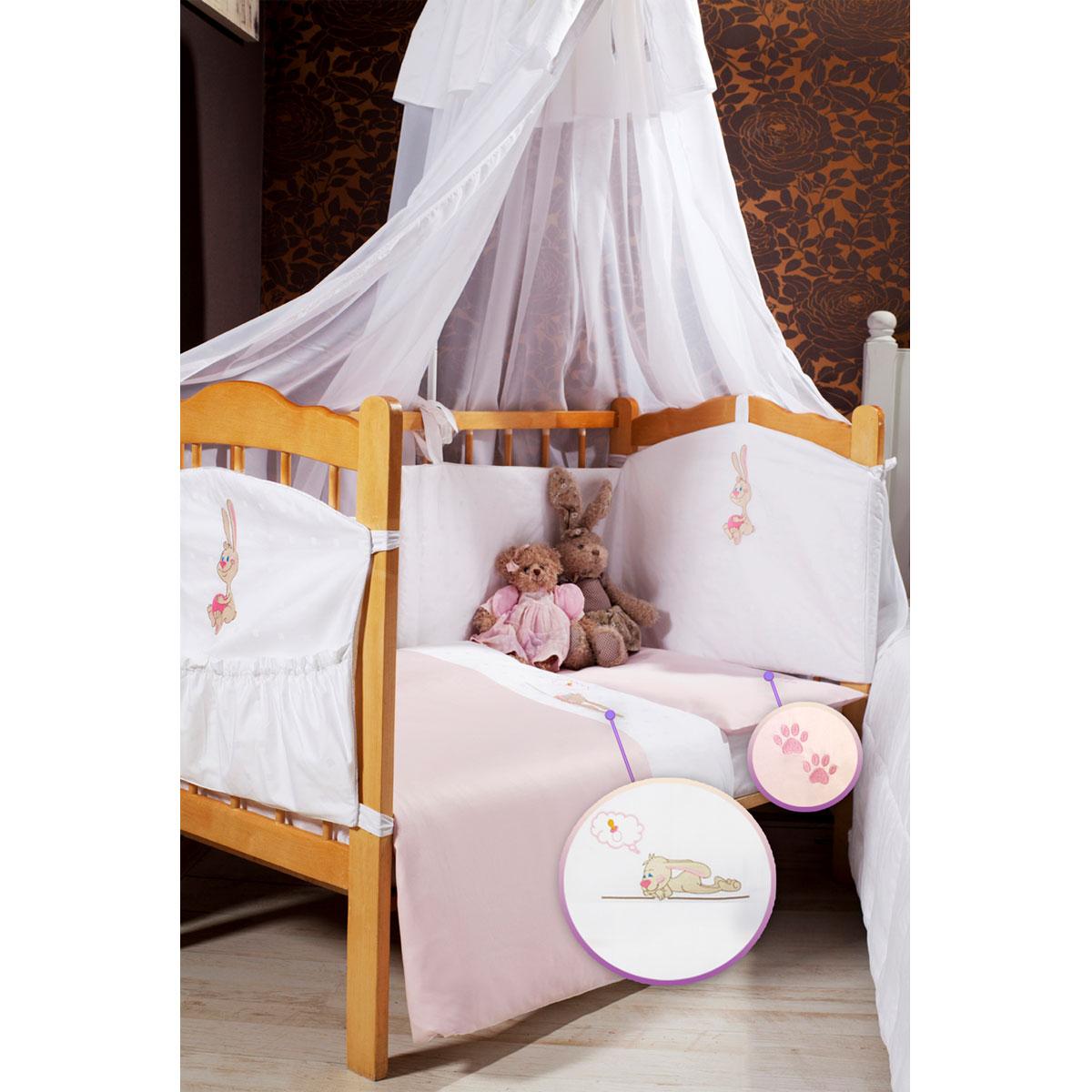 Детское постельное белье Primavelle Lovely (ясельный спальный КПБ, хлопок, наволочка 42х62), цвет: розовый531-105Детское постельное белье Primavelle Lovely прекрасно подойдет для вашего малыша. Текстиль произведен из 100% хлопка. При нанесении рисунка используются безопасные натуральные красители, не вызывающие аллергии. Гладкая структура делает ткань приятной на ощупь, она прочная и хорошо сохраняет форму, мало мнется и устойчива к частым стиркам. Комплект состоит из наволочки, простыни на резинке и пододеяльника. Яркий рисунок непременно понравится вашему ребенку.В комплект входят: Пододеяльник - 1 шт. Размер: 145 см х 115 см. Простыня - 1 шт. Размер: 120 см х 60 см. Наволочка - 1 шт. Размер: 42 см х 62 см.