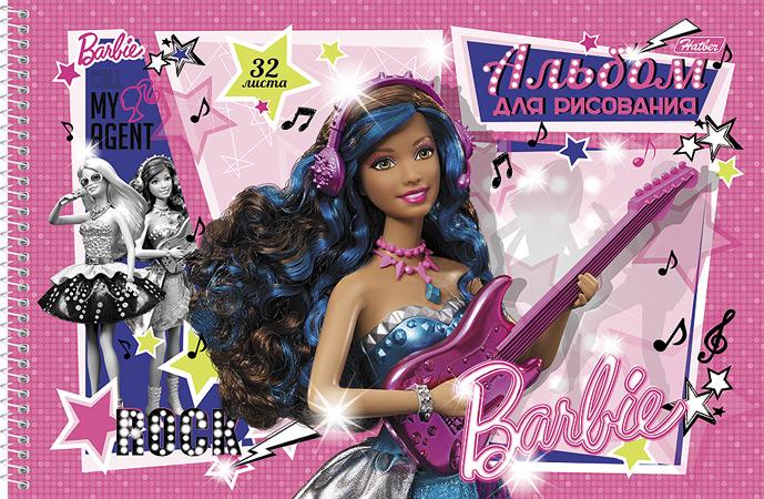 Альбом для рисования Barbie, 32 листа32А4Bсп_14004Альбом для рисования Barbie прекрасно подходит для рисования карандашами и мелками. Обложка выполнена из мелованного картона. Крепление - спираль. В альбоме тонким пунктиром сделана перфорация для последующего отрыва листов.Альбом для рисования непременно порадует художника и вдохновит его на творчество. Рисование позволяет развивать творческие способности, кроме того, это увлекательный досуг.Рекомендуемый возраст: 0+.