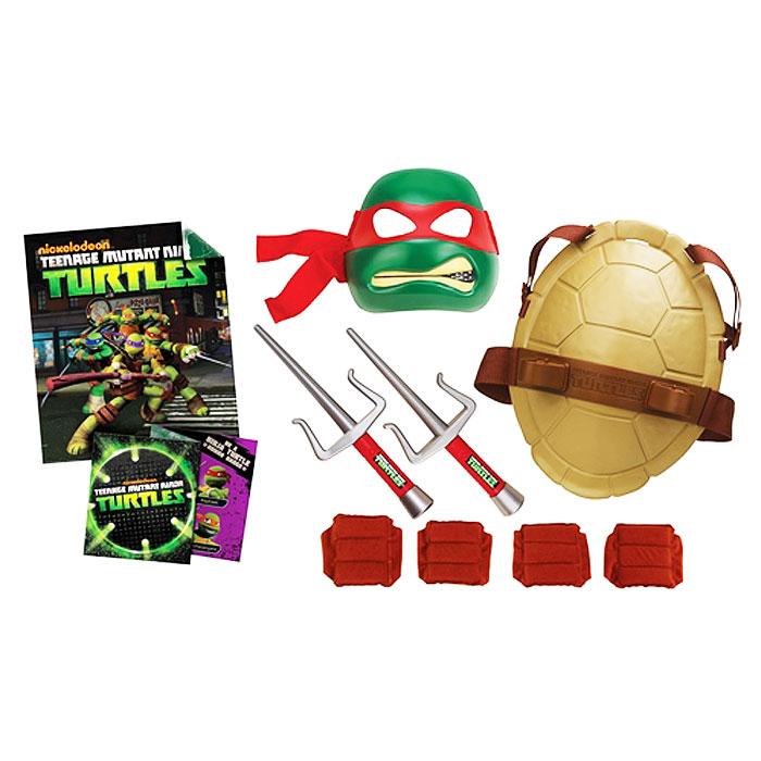 Игровой набор Turtles Боевое снаряжение Черепашки-Ниндзя: Рафаэль игровой набор turtles боевое снаряжение черепашки ниндзя леонардо 4 предмета